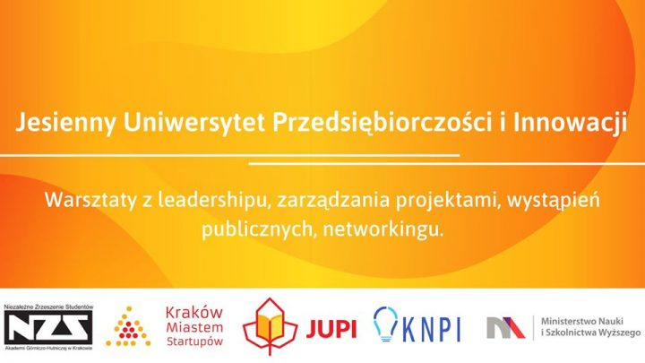 Warsztaty JUPI (08.10-17.12) dla aktywnych studentów
