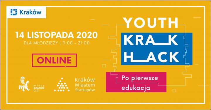 YouthKrakHack #2 | Po pierwsze edukacja!